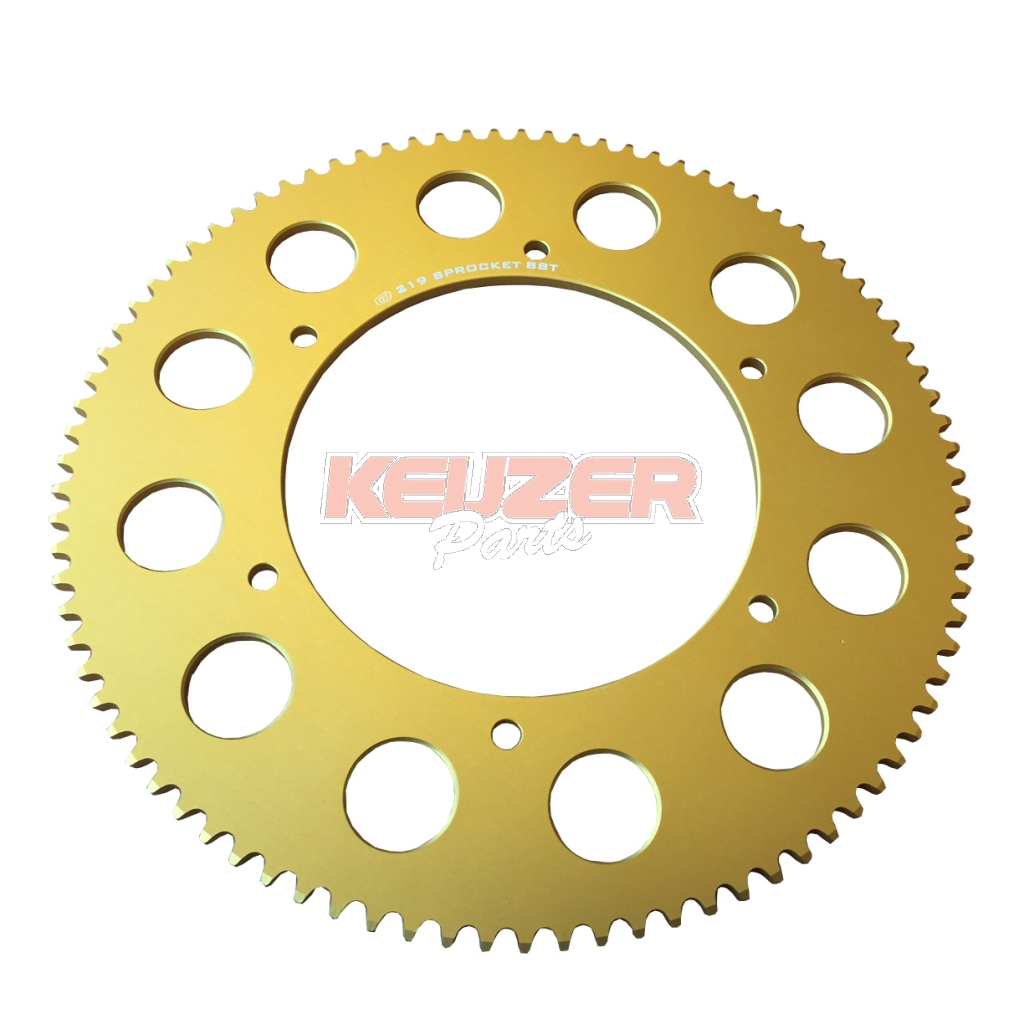 Keijzer Racing Parts  318012 tandwiel 219 88T goud