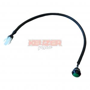 Iame  A-61928A Green push buton incl. cable