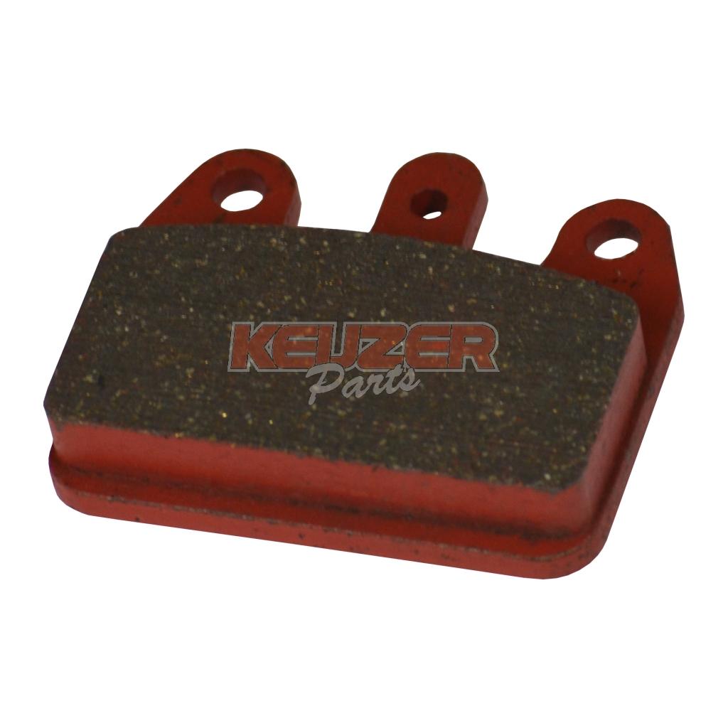 Keijzer Racing Parts  402956 set rode remblokken V05