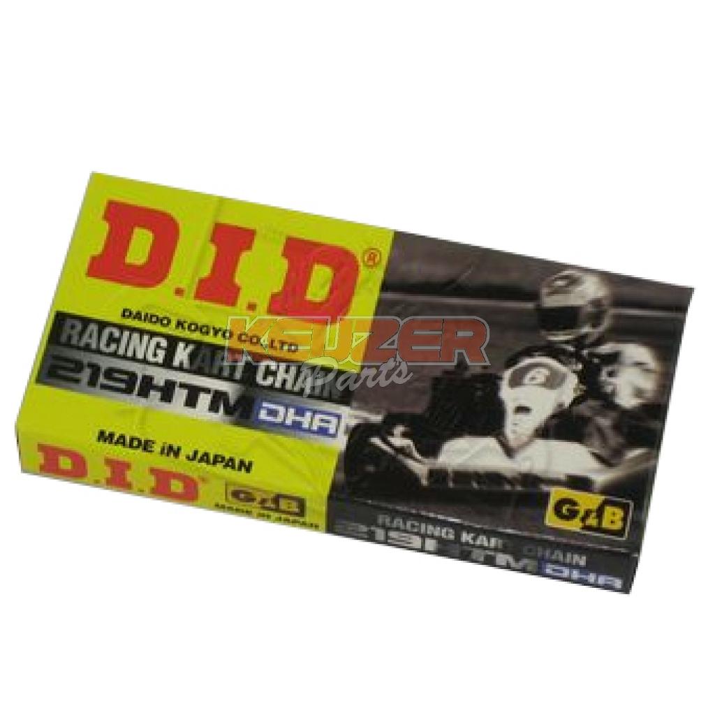 Keijzer Racing Parts  403018 ketting 219 GB/BL DHA DID 102L