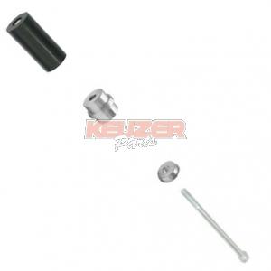 C.R.G. SpA FKN.01712 achterbumper rubber (32) compleet