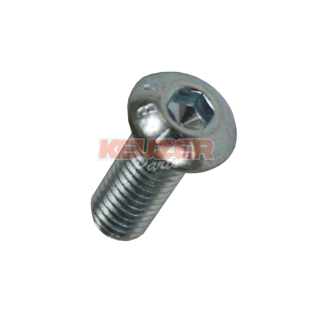 Keijzer Racing Parts  403108 M 8x 20 convex head screw