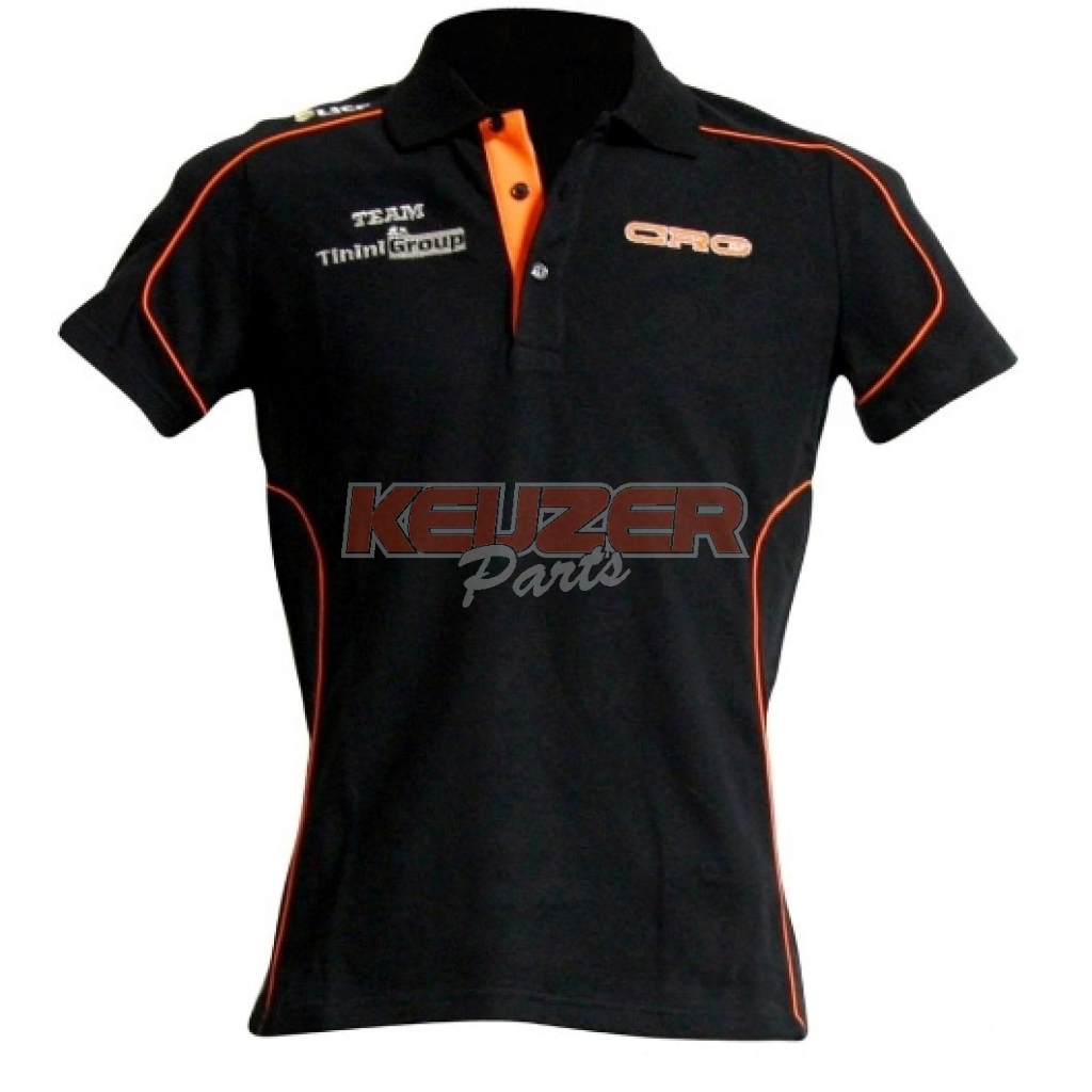 Keijzer Racing Parts  616630 CRG polo met korte mouwen