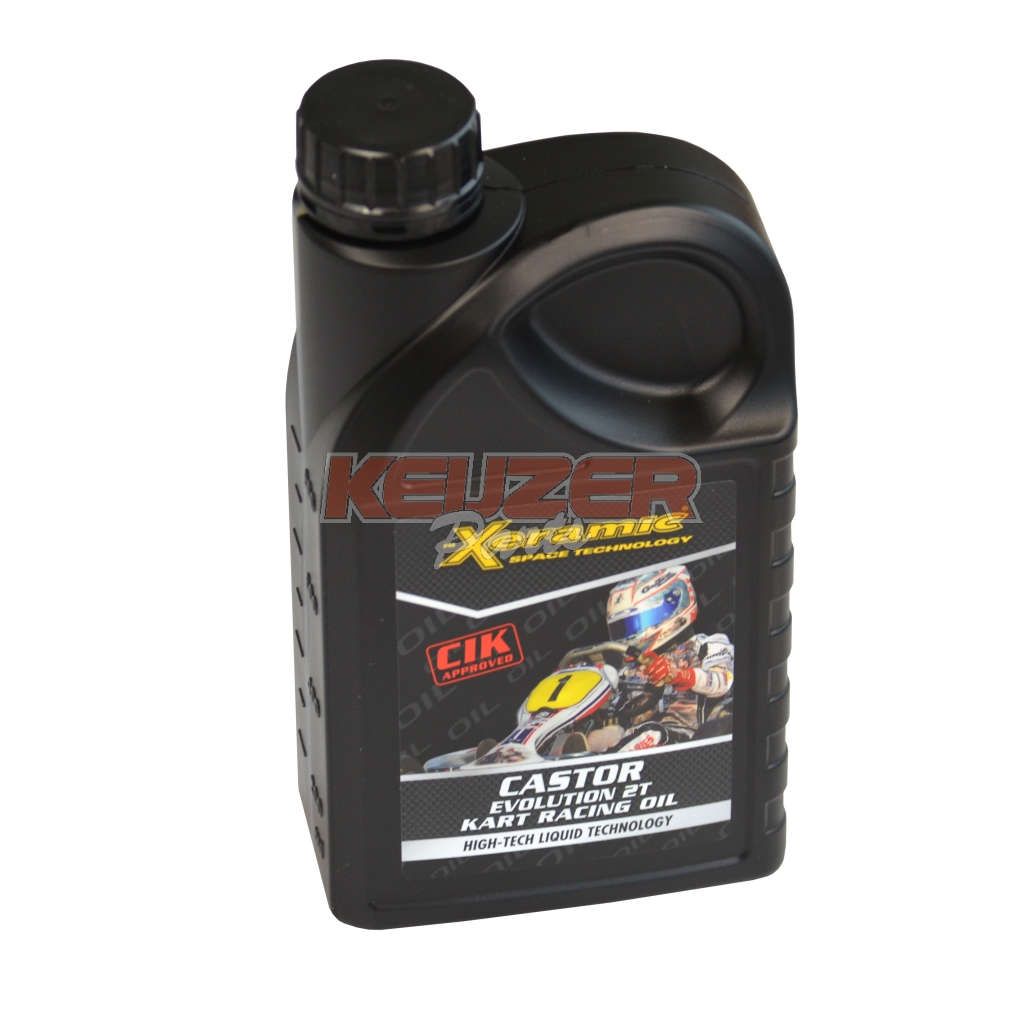 Keijzer Racing Parts  616690 Castor Evolution 2T kart Racing Oil