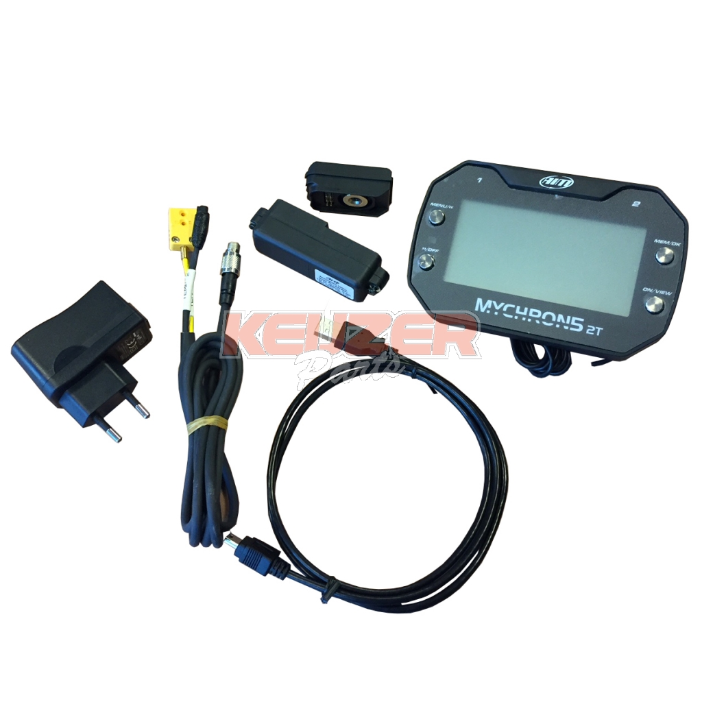 Keijzer Racing Parts  624022 Mychron 5 GPS Laptimer 2 temp incl. RPM + charger